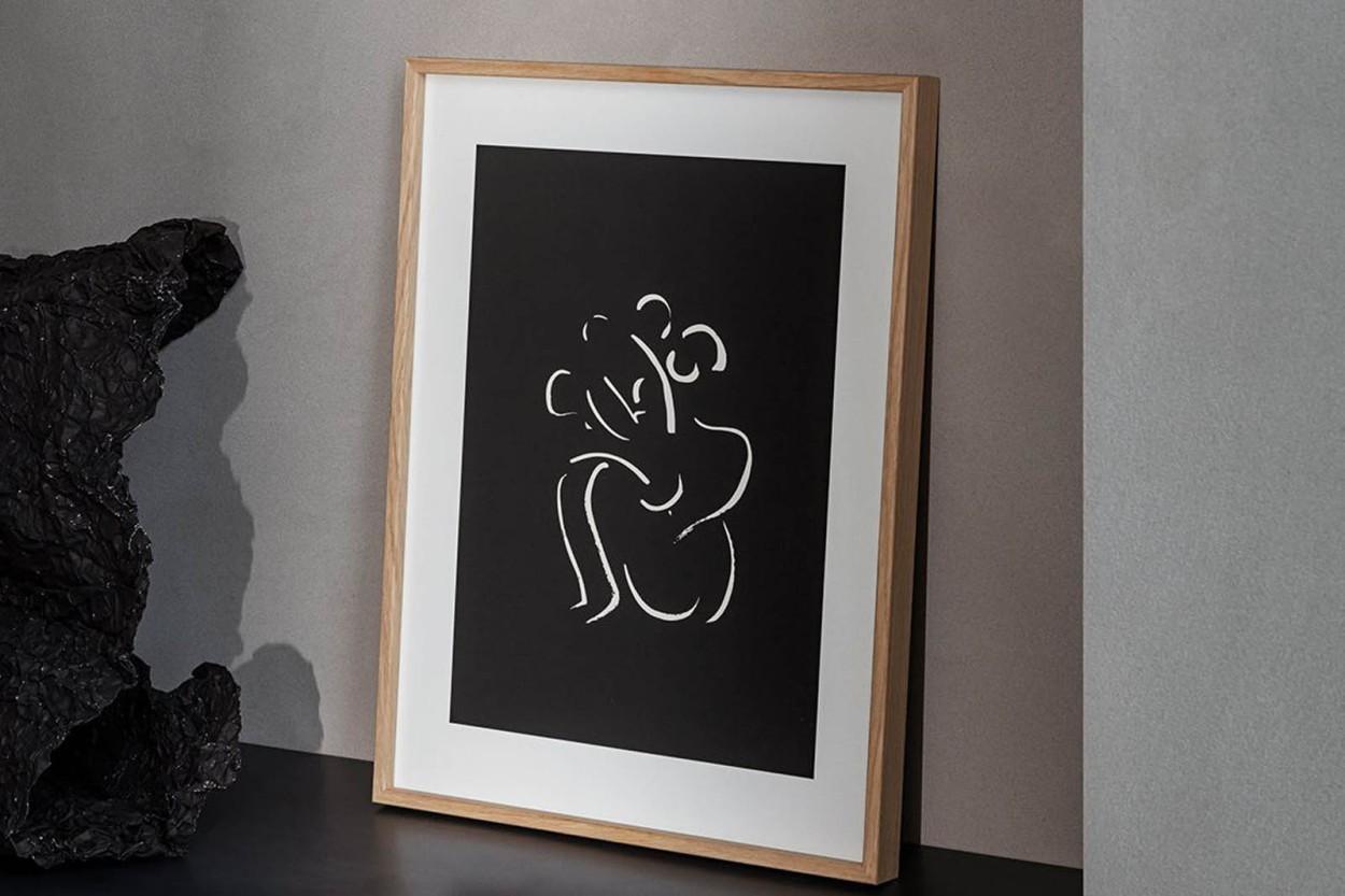 ALIUM × Lucrecia Rey Caro ポスター/アートプリント 30×40cm Ahora