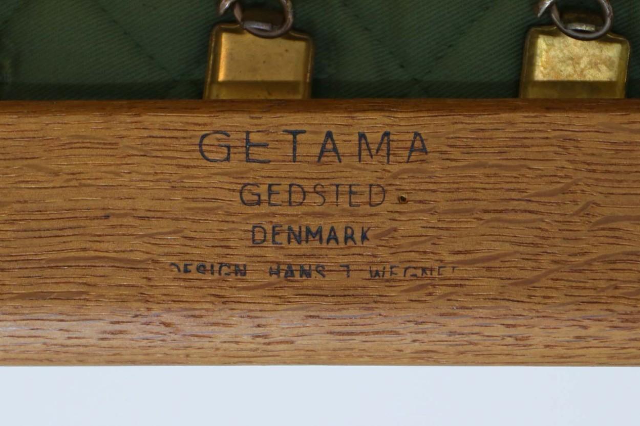 北欧家具ビンテージ GE290 トリプルソファ オーク材 Hans J.Wegner(ハンス・J・ウェグナー) GETAMA/ゲタマ/DK10505