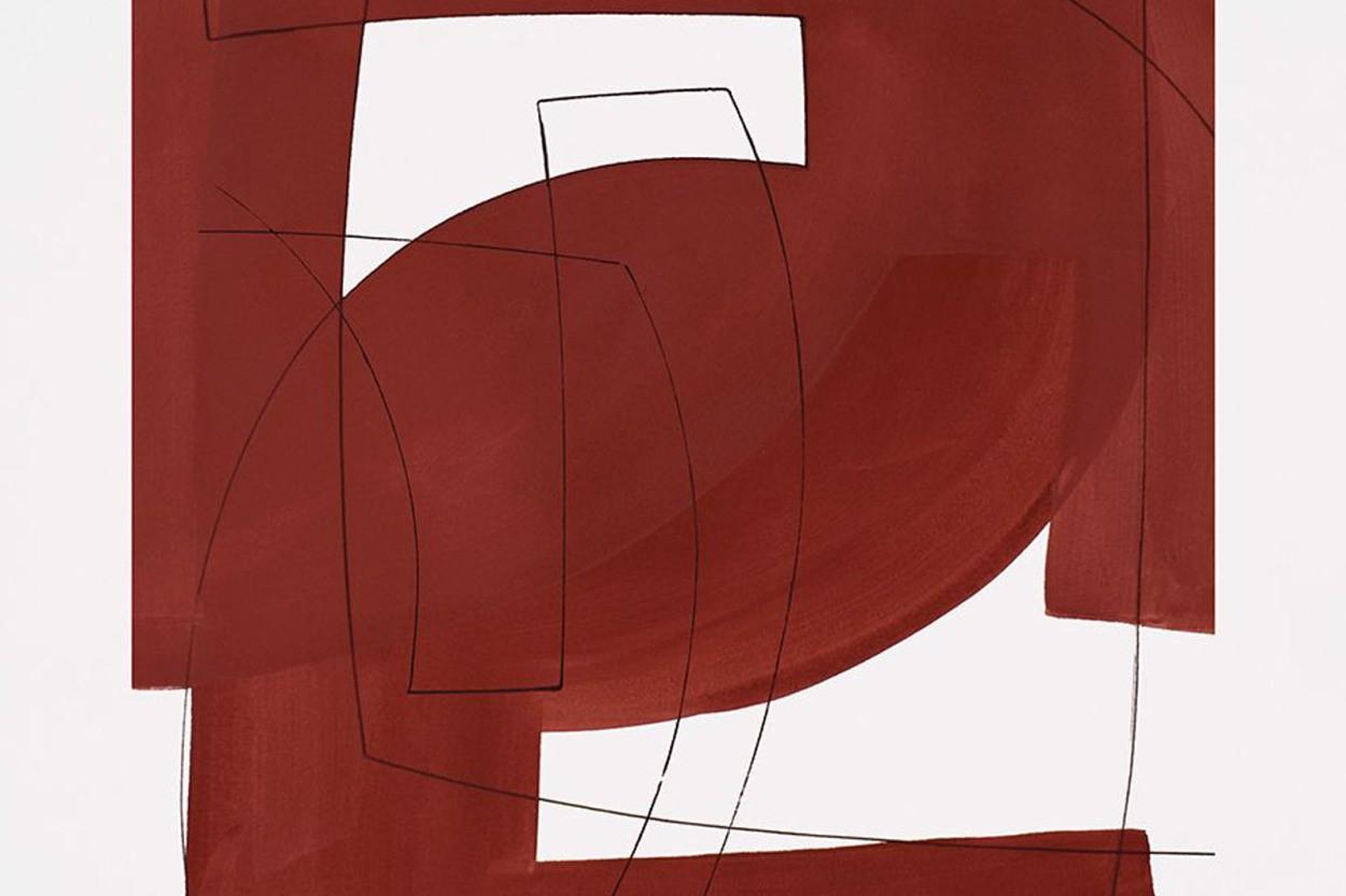ALIUM × Berit Mogensen Lopez ポスター/アートプリント 50×70cm Merged