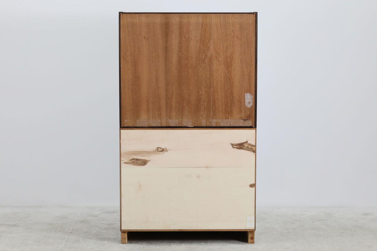 Poul Hundevad 小ぶりなシェルフ ローズウッド材 北欧家具ビンテージ/DK10657
