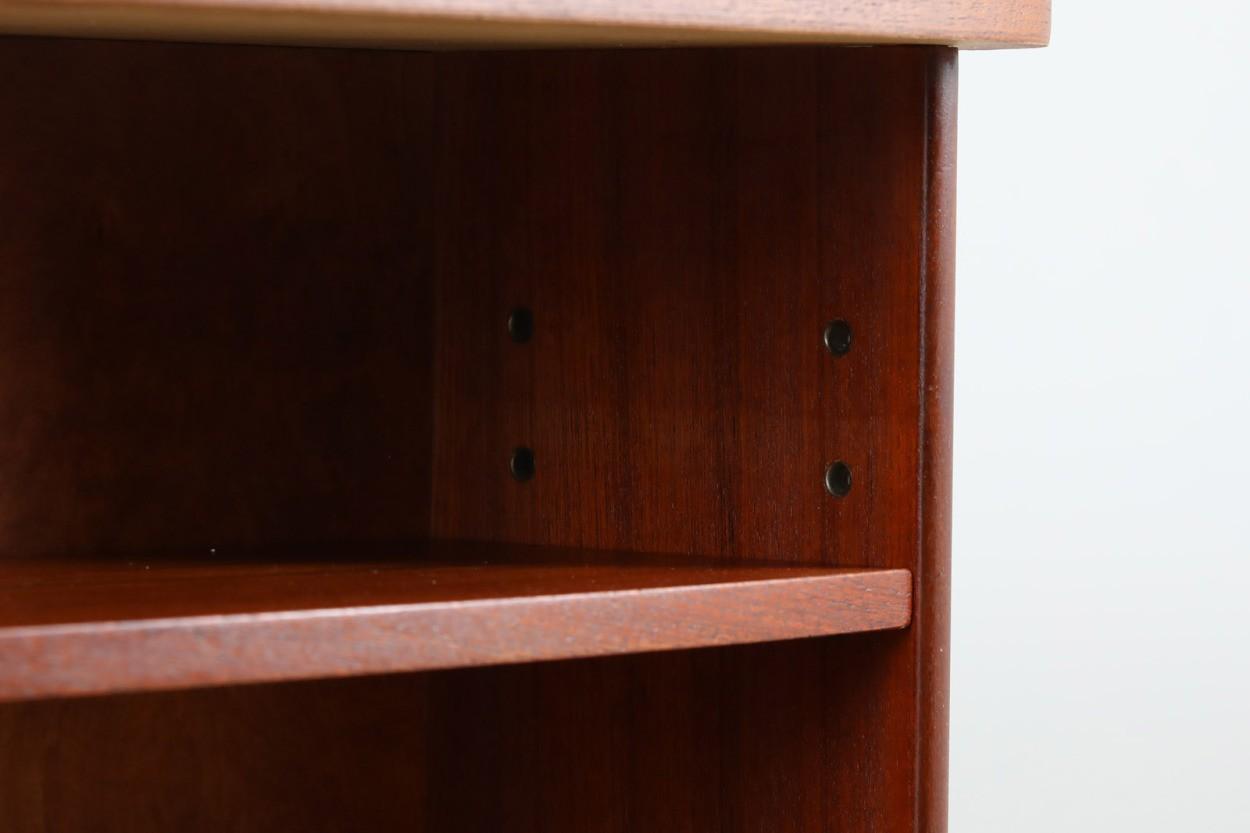 デンマーク製 お洒落な形のキドニーデスク チーク×オーク材 北欧家具ビンテージ/DK11000