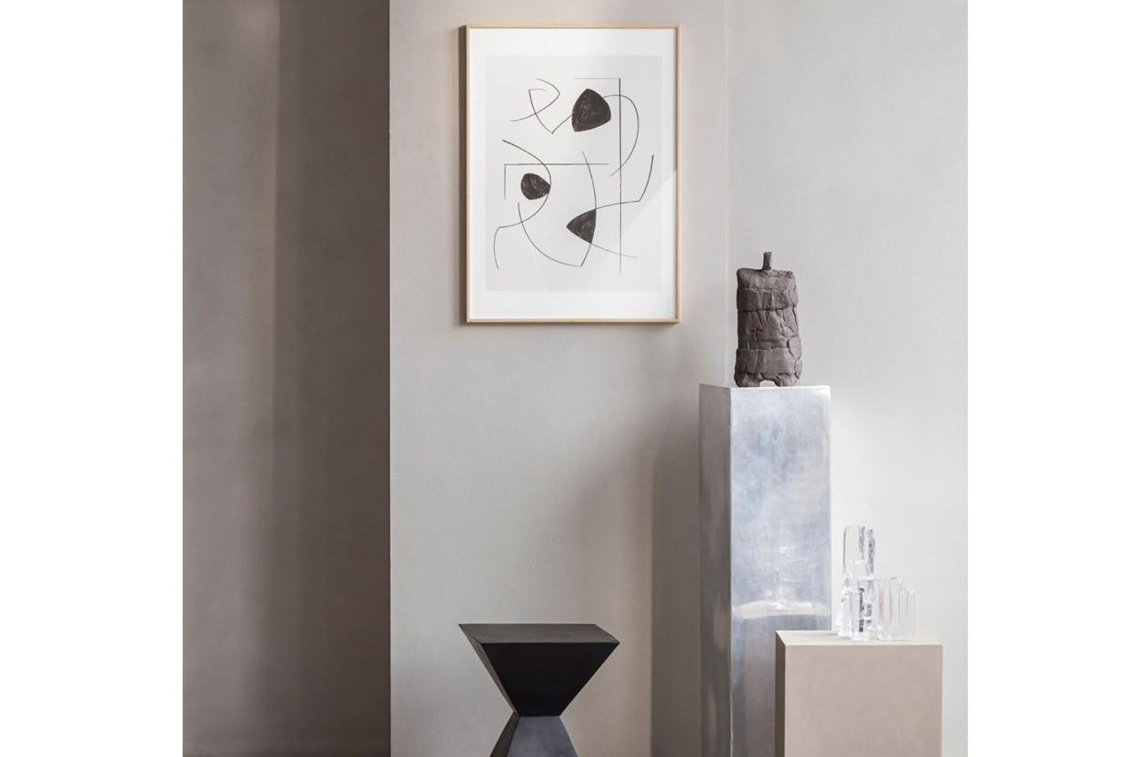 ALIUM × Berit Mogensen Lopez ポスター/アートプリント 50×70cm Lines
