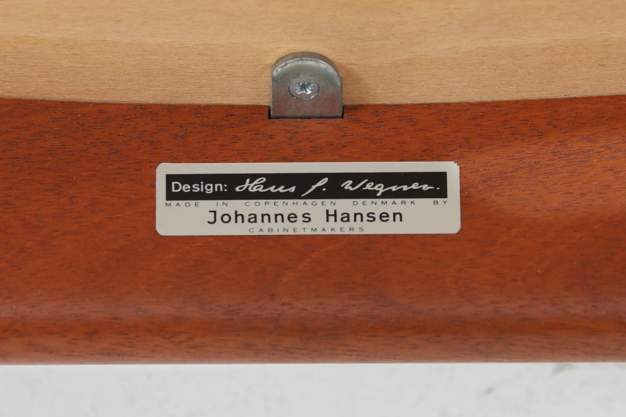 Hans J.Wegner(ハンス・J・ウェグナー) アームチェア JH250 マホガニー材 Johannes Hansen(ヨハネス・ハンセン) /DK11079