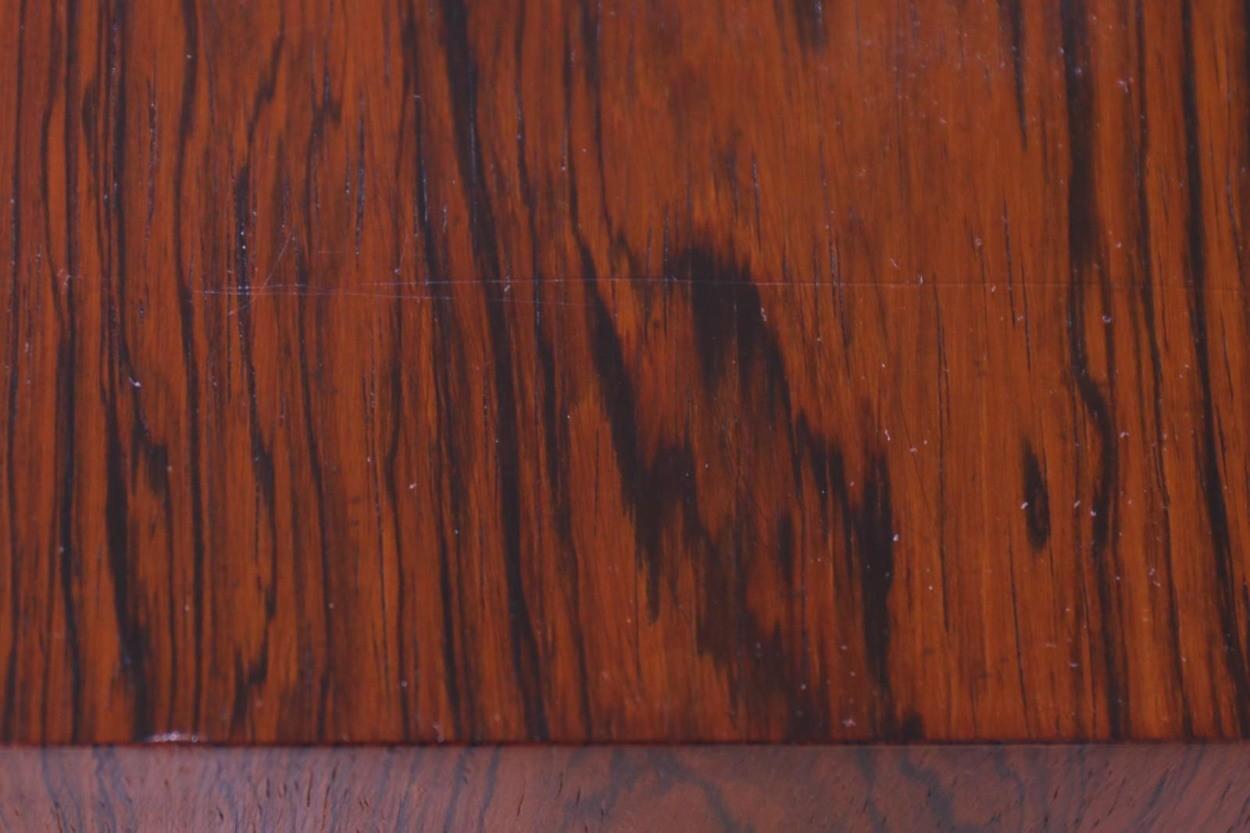 Kai Kristiansen(カイ・クリスチャンセン) 小ぶりなローボード 蛇腹扉 ローズウッド材 北欧家具ビンテージ/DK10187