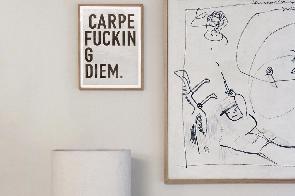 MY DEER ART SHOP ポスター/アートプリント 50×70cm Carpe Fucking Diem. (Limited edition #250)