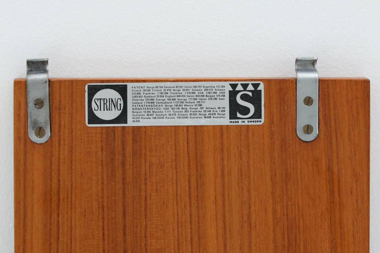 Nils Strinning(ニルス・ストリング) ストリングシェルフ 北欧家具ビンテージ/DK9824