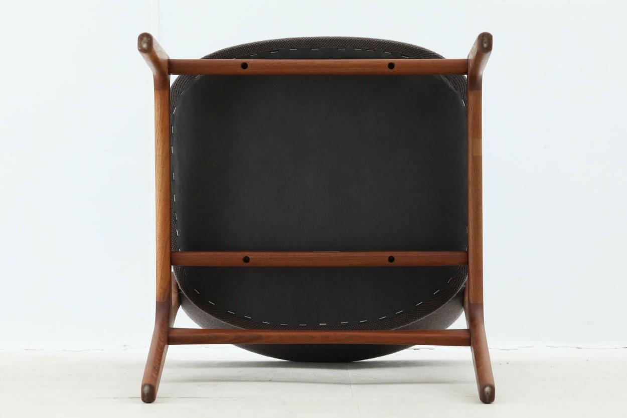 Erik Buch(エリック・バック)×Illums Bolighus(イルムス・ボリフス) チェア Model49 チーク材 デンマーク製 北欧家具ビンテージ/DK7046