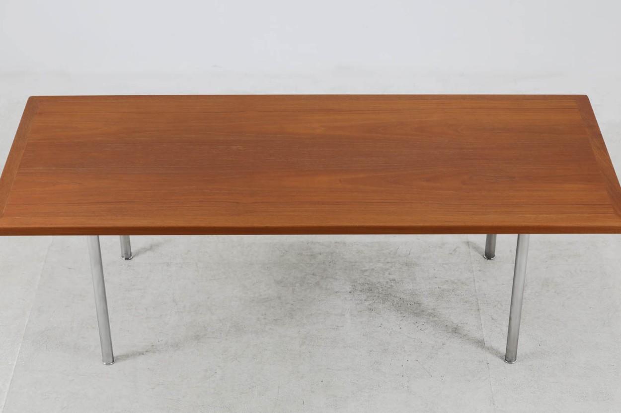 Hans J.Wegner(ハンス・J・ウェグナー) センターテーブル AT12 150cm チーク材 北欧家具ビンテージ デンマーク製/DK11155