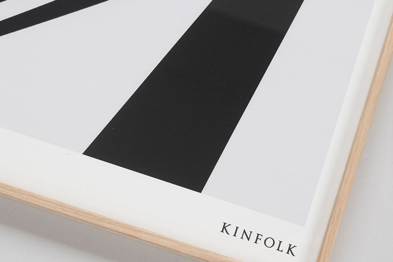 ALIUM × Kinfolk ポスター/アートプリント 50×70cm How To Wear A Hat
