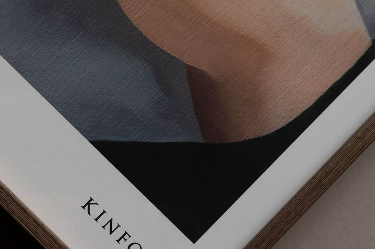 ALIUM × Kinfolk ポスター/アートプリント 40×50cm Soft Strokes 02