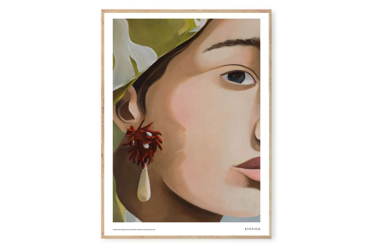 ALIUM × Kinfolk ポスター/アートプリント 50×70cm Soft Strokes 01