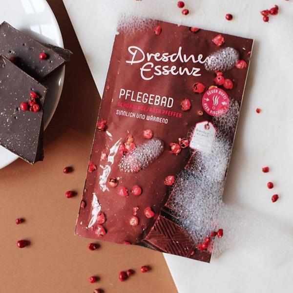 Dresdner Essenz(ドレスナーエッセンス) バスエッセンス チョコレートピンクペッパー【甘いチョコレートの香り】