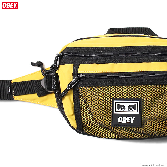 OBEY CONDITIONS WAIST BAG (ENERGY YELLOW)