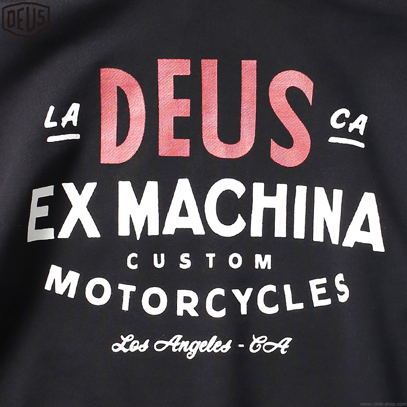 DEUS EX MACHINA SENTIMENTS HOODIE (BLACK)