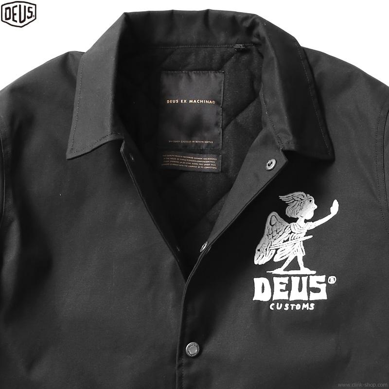 DEUS EX MACHINA DEVIL ADDRESS COACH (BLACK)