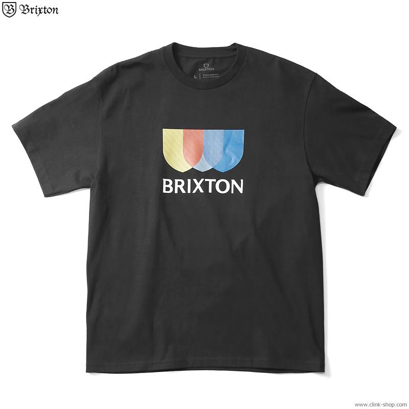 SALE 20%OFF BRIXTON ALTON STRIPE S/S STANDARD TEE (BLACK)