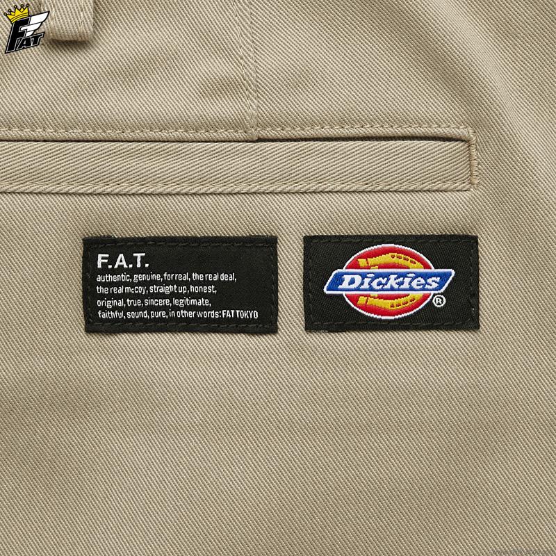 """FAT × Dickies """"SHORTIES"""" (BEIGE) [F32010-PN14]"""