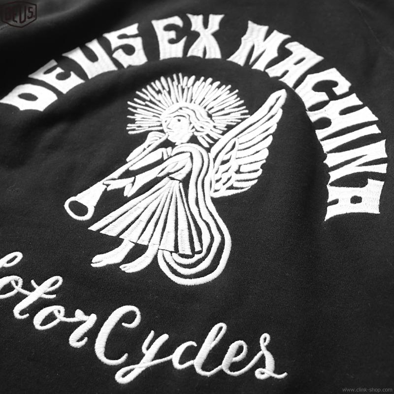 DEUS EX MACHINA DEVIL ADDRESS HOODIE (BLACK)
