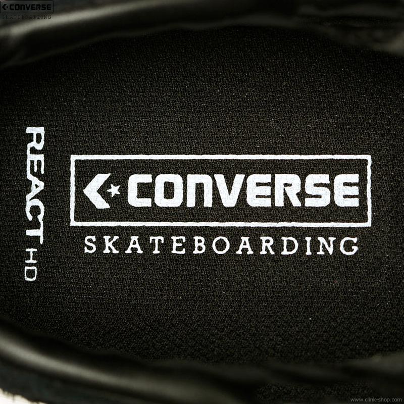 "CONVERSE SKATEBOARDING ""+ SERIES"" PRORIDE SK OX + (BLACK)"