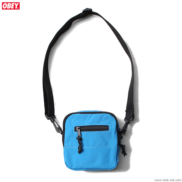 OBEY CONDITIONS TRAVELER BAG (PURE TEAL)