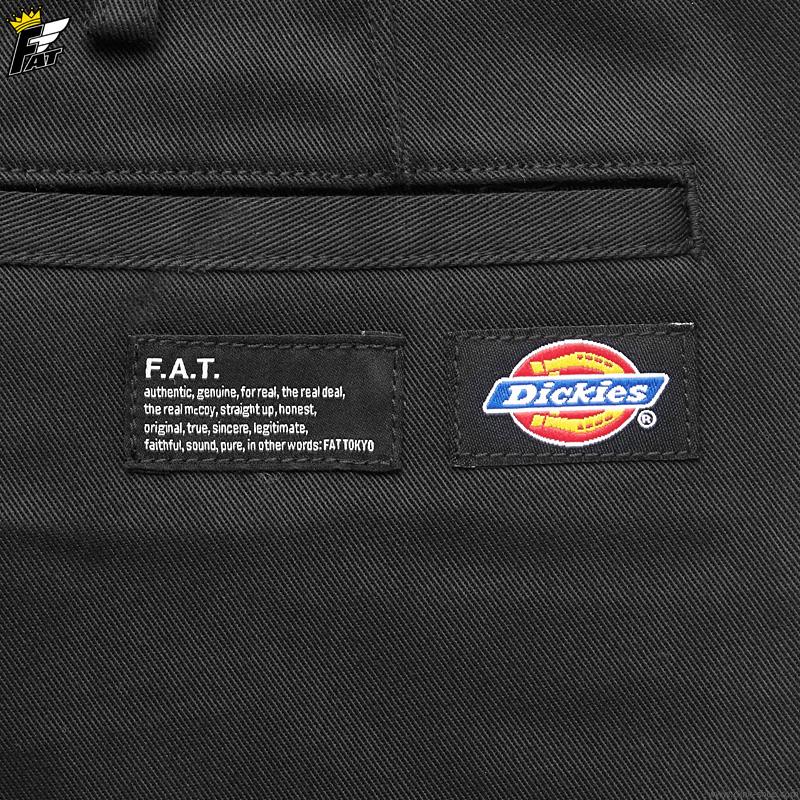 "FAT × Dickies ""SHORTIES"" (BLACK) [F32010-PN14]"