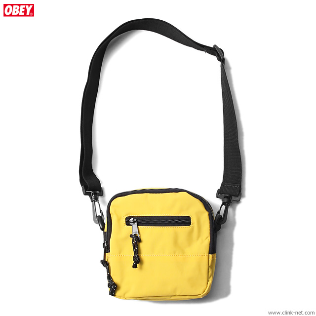 OBEY CONDITIONS TRAVELER BAG (ENERGY YELLOW)