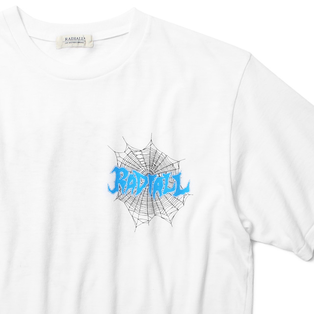 RADIALL BILLYS HOLIDAY - CREW NECK T-SHIRT (WHITE)