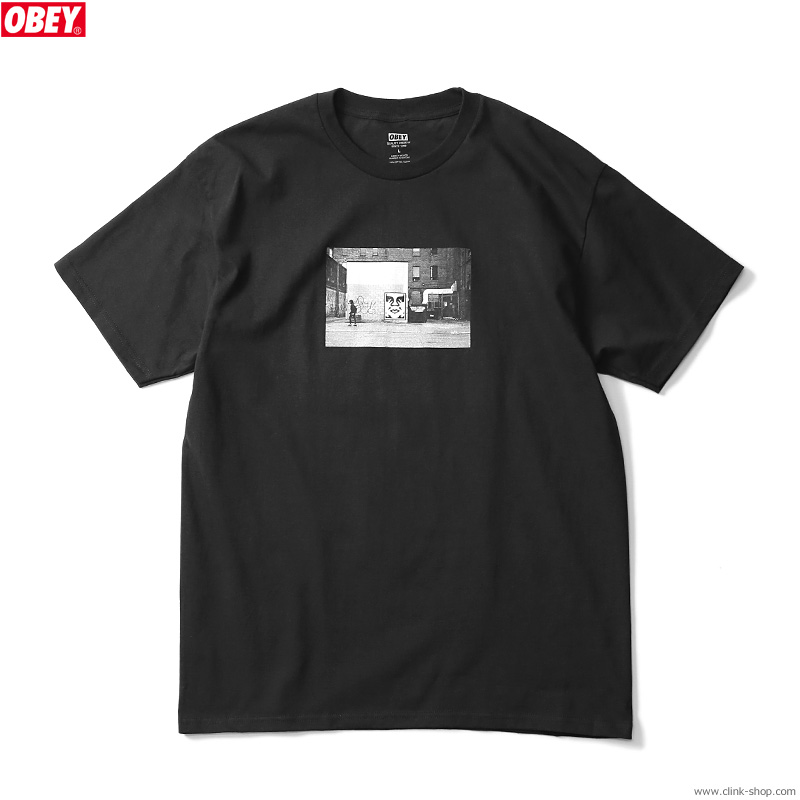 """SALE 20%OFF OBEY CLASSIC TEE """"OBEY ICON FACE TORONTO"""" (BLACK) [SHEPARD FAIREY COLLECTION]"""
