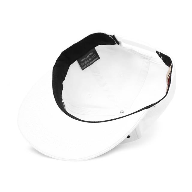 ANIMALIA SNAPBACK CAP (WHITExBLACK) [AN15SP-CP01]