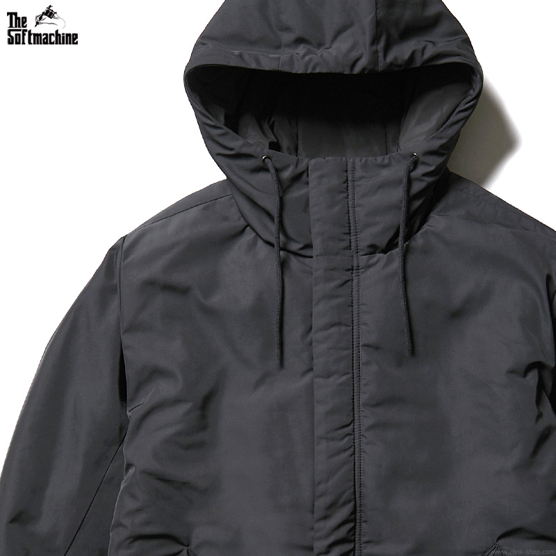 SOFTMACHINE COME DOWN COAT (BLACK)