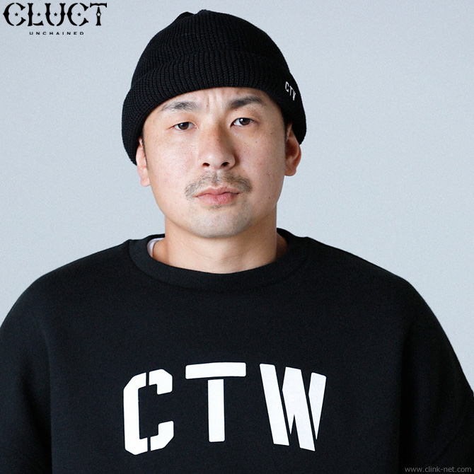 ★SALE★ CLUCT CTW-BEANIE (BLACK) #03091