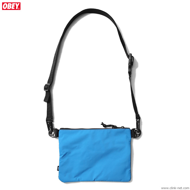 OBEY CONDITIONS SIDE BAG (PURE TEAL)