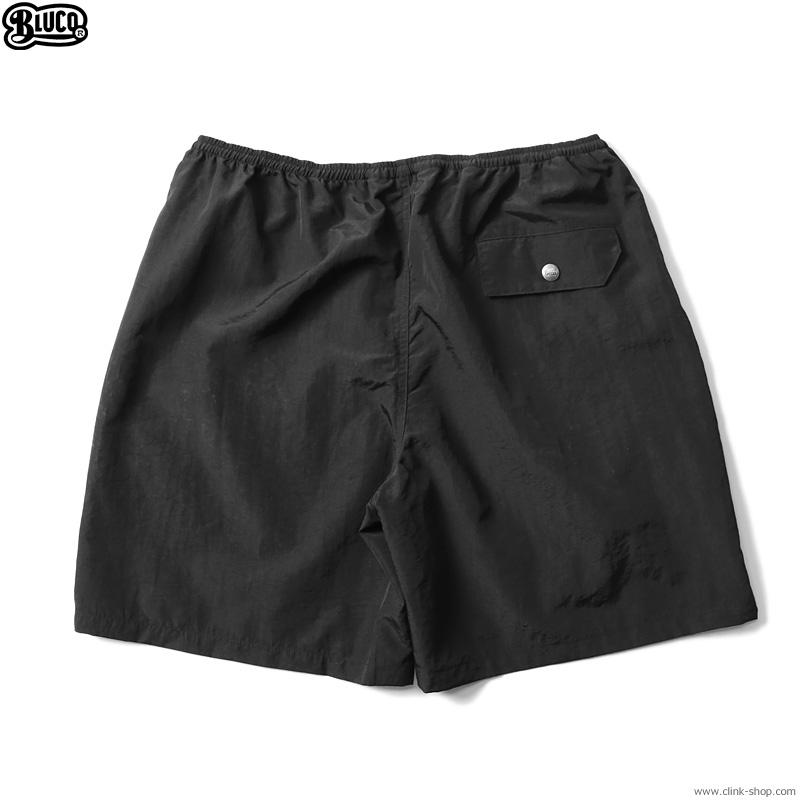 BLUCO BAGGY SHORTS (BLACK) [OL-009-021]