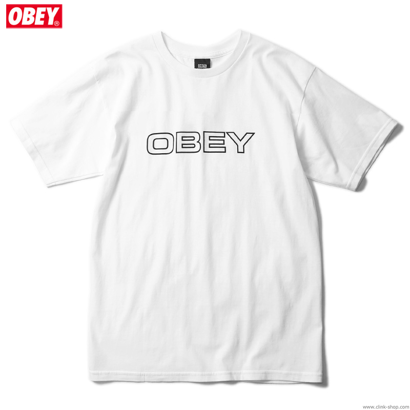 "OBEY BASIC TEE ""CEREMONY"" (WHITE)"