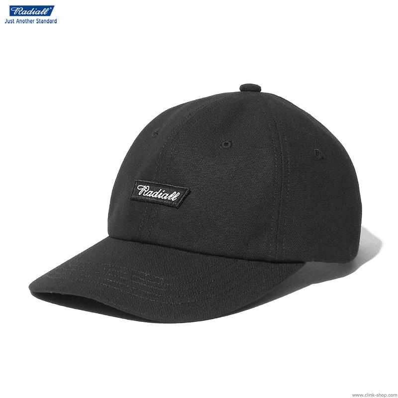RADIALL FLAGS - BASEBALL LOW CAP (BLACK)