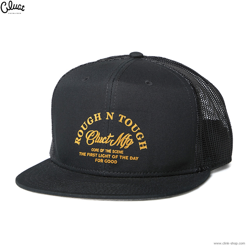 CLUCT MAC [TRUCKER CAP] (BLACK) #04246