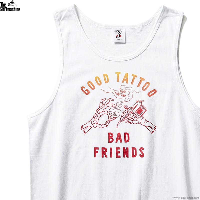 SOFTMACHINE BAD FRIENDS TANK (WWHITE)