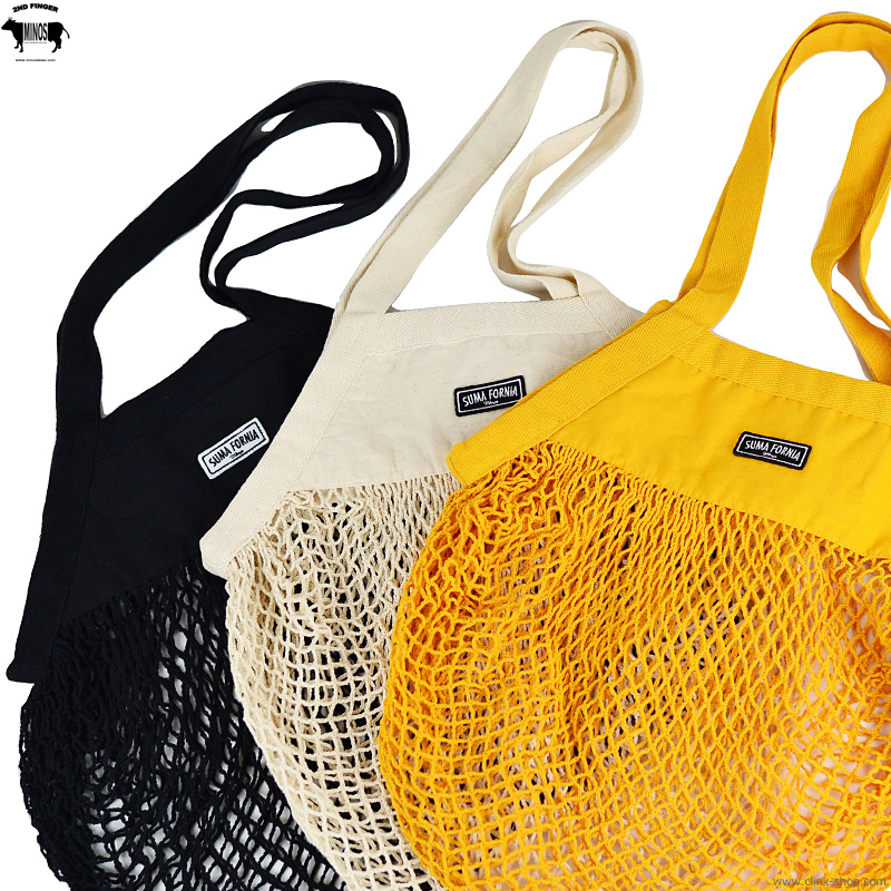 MINOS SUMA FORNIA ORGANIC COTTON MESH BAG [MNX21-AC01]