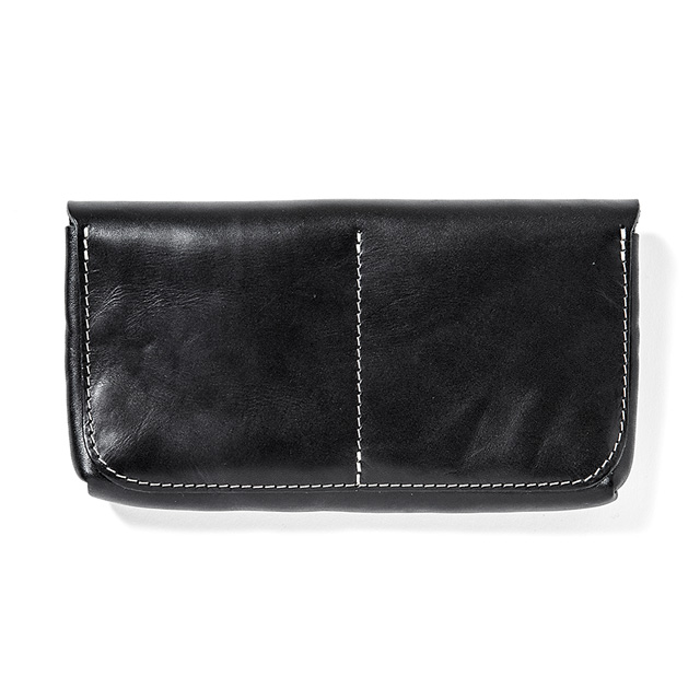 ANIMALIA Chisholm Trail Wallet #001 (BLACK) [AN16A-AC01]