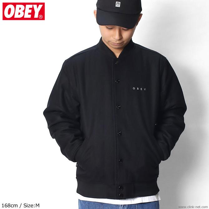 OBEY SOTO DIVISION JACKET (BLACK)