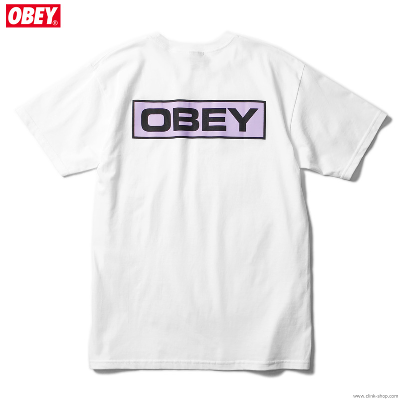 "OBEY BASIC TEE ""DEPOT OBEY"" (WHITE)"