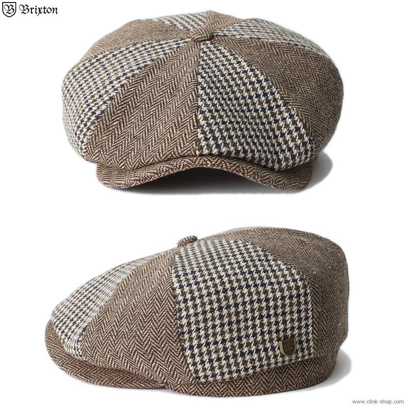 BRIXTON FENDER PHILLY BAGGY SNAP CAP (MOCHA) [BRIXTON×FENDER]