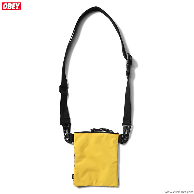 OBEY CONDITIONS SIDE POUCH (ENERGY YELLOW)