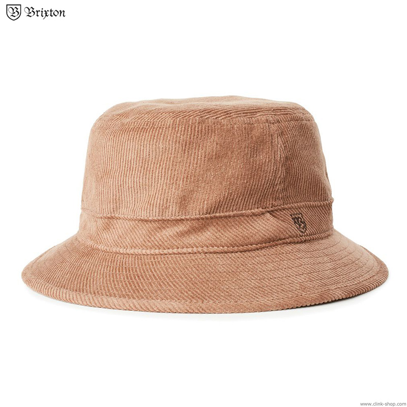 BRIXTON B-SHIELD BUCKET HAT  (HIDE)