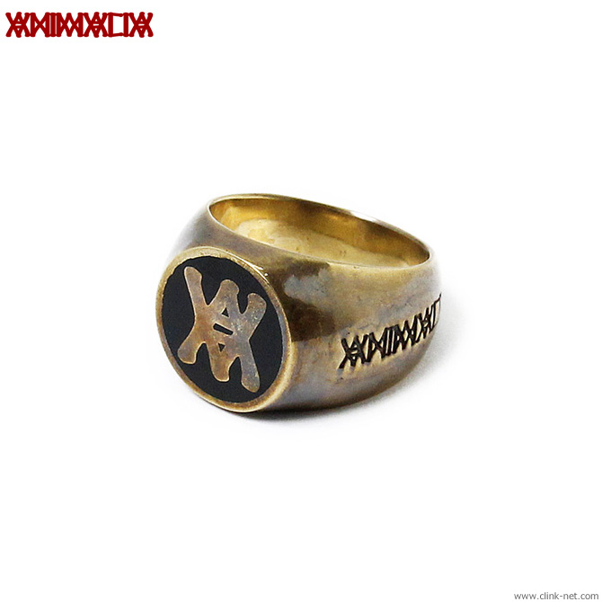 ANIMALIA Secret Society Ring - Brass [AN16S-AC13]