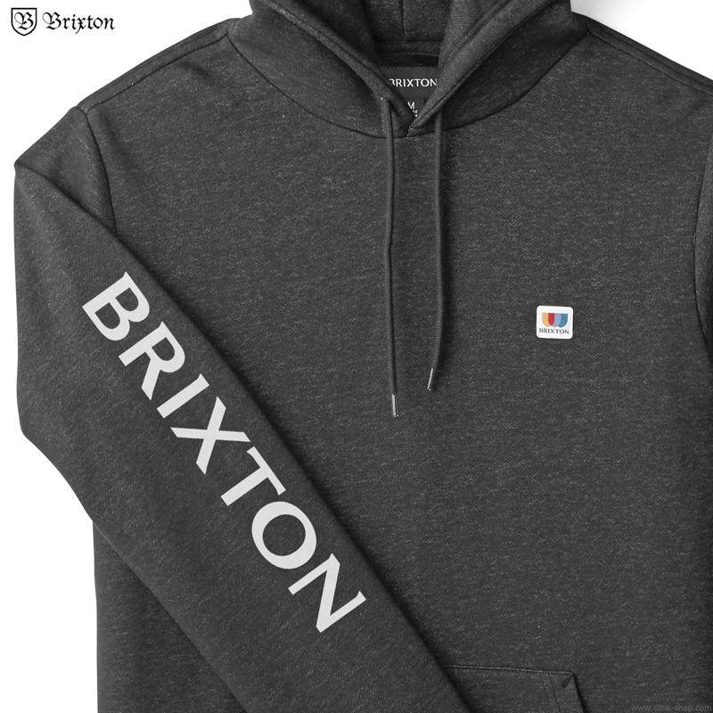 BRIXTON ALTON HOOD (BLACK)
