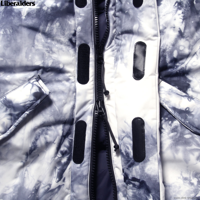 LIBERAIDERS MOUNTAIN RANGE DOWN JACKET III (TIE DYE) #74001