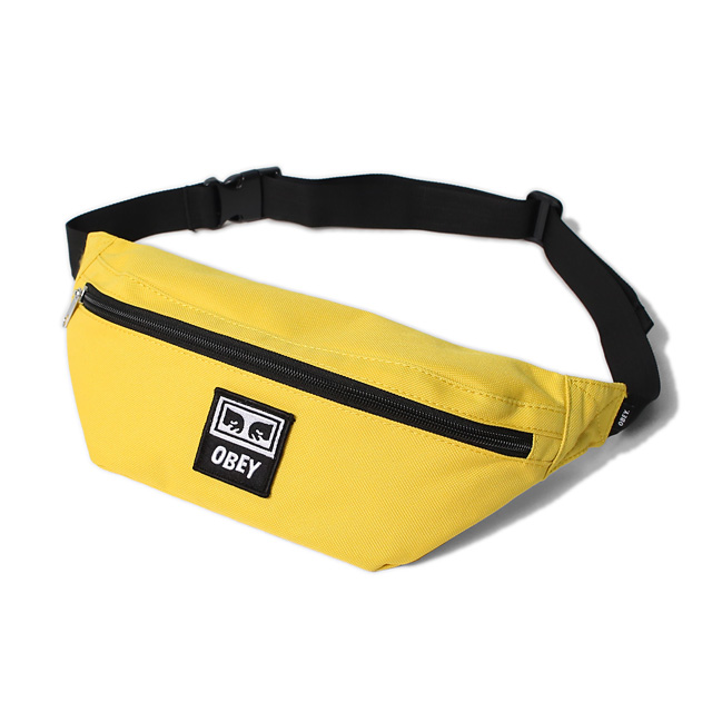 OBEY DAILY SLING BAG (YELLOW)