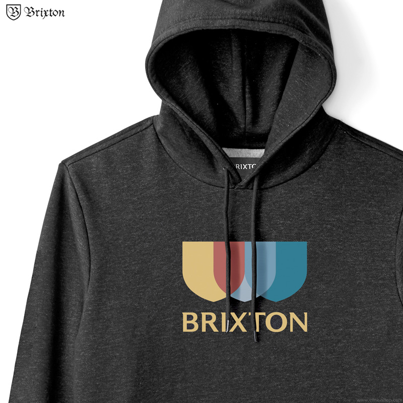 BRIXTON ALTON II HOOD (BLACK)