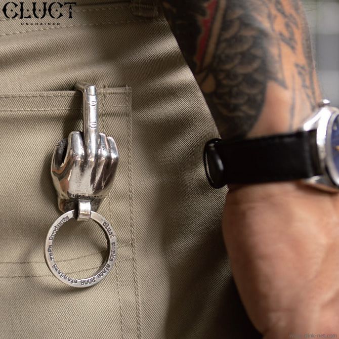 CLUCT × VIN'S MIDDLE FINGER (SILVER) #04024
